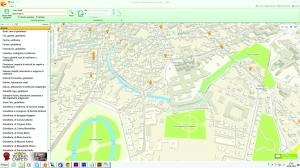 2GIS THE CITY EXPERT schermata di Padova genn 2013