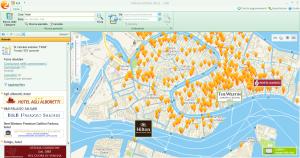 2GIS THE CITY EXPERT schermata di Venezia gennaio 2013