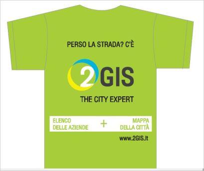 2GIS THE CITY EXPERT alla MARATONA S. ANTONIO 2013 - 21 aprile 2013 maglietta