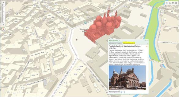 2GIS THE CITY EXPERT - PADOVA - scheda attrazioni turistiche -Basilica del Santo