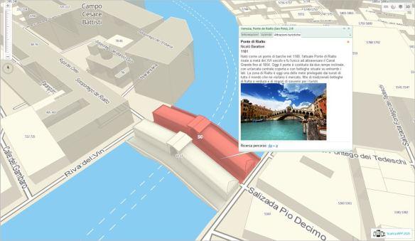 2GIS THE CITY EXPERT - VENEZIA - scheda attrazioni turistiche - Ponte di Rialto
