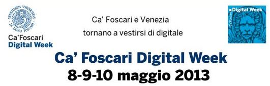 Digital Week 2013 per blog2GIS