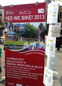 YES WE BIKE! Padova 2013 2GIS