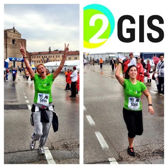 Foto maratona del santo 2013 arrivo