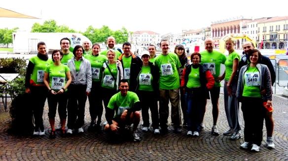 Maratona del Santo 2013 - Atleti 2GIS spa