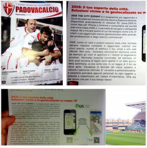 Stampa - PadovaCalcio - 09.03.2013 - 2GIS il tuo esperto della città